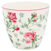 Constance white lattemugg